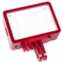 Aluminum Alloy Protective Cover Frame for XiaoMi Yi Sports Camera Red
