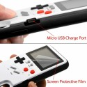 2574 Classic Games Console Tetris Game Phone Case Cover White for iPhone XR