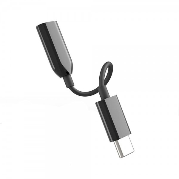 Audio Adapter Cable Type-C to 3.5mm Jack Cable Music Player Audio Converter Connector Cord Compatible with Samsung Oneplus Xiaomi Huawei Type C Smart Phone