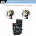 2Pcs V6 Pro Motorcycle helmet headset Intercom BT Interphone for 6 Riders