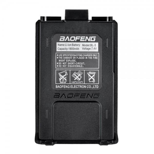 BAOFENG BL-5L High Capacity 7.4V 2100mAh Li-ion Extended Battery for Baofeng UV 5R UV-5R Two-way Radio Batteries