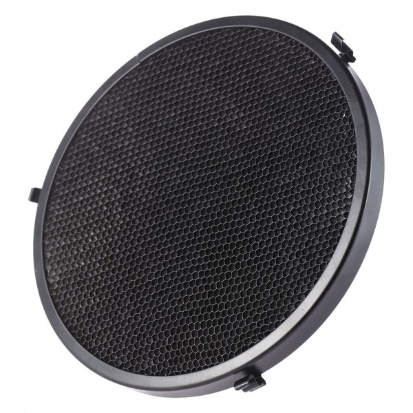16.7cm Metal Speedlite Light Flash 15 Degree Honeycomb Grid for Nikon Canon Yongnuo Godox Sigma Andoer Neewer Vivitar Speedlight Beauty Dish Lamp Shade Diffuser