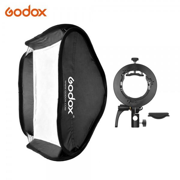 Godox 60 * 60cm/24 * 24inch Flash Softbox Diffuser