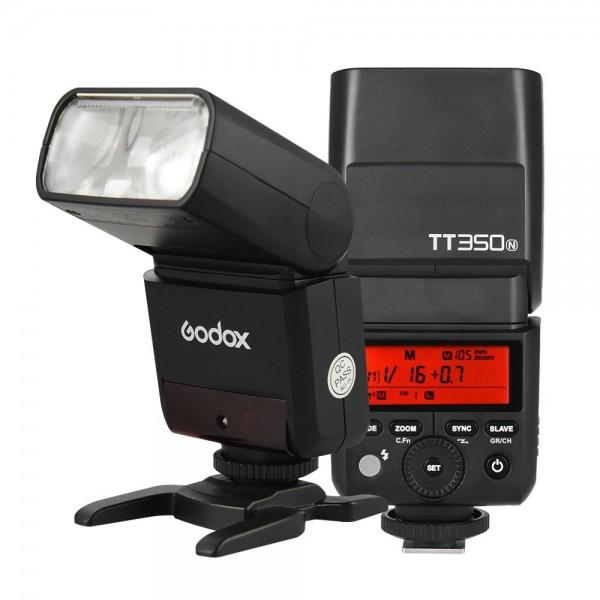 Godox Thinklite TT350N Mini 2.4G Wireless TTL Camera Flash Master & Slave Speedlite