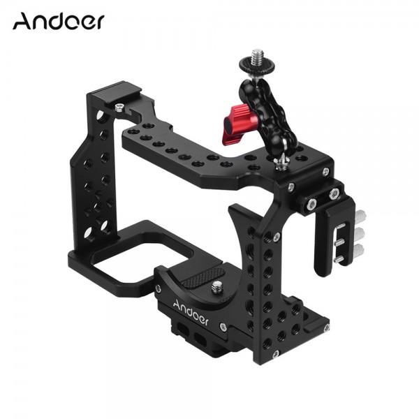 Andoer Camera Cage Video Film Movie Making Stabilizer