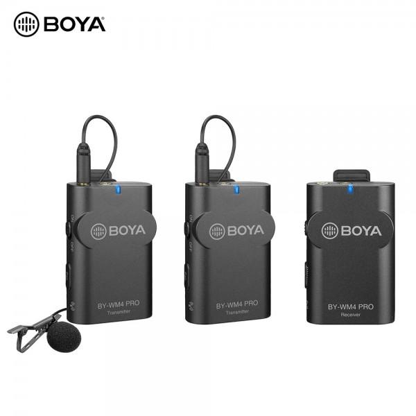 BOYA BY-WM4 Pro K2 Portable 2.4G Wireless Microphone