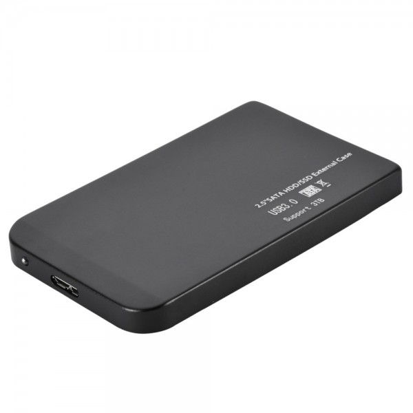 2.5 inch USB 3.0 Ultra-thin SATA SSD Hard Disk Base Casing 5Gbps/s High-speed Mobile Hard Disk Case